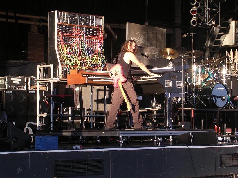 Official Keith Emerson Website Photos 2004 Fall Tour