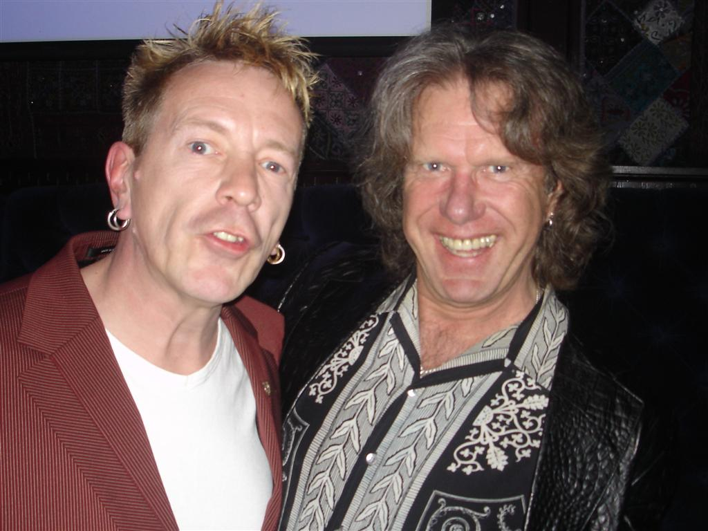 Johnny Rotten & Keith Emerson